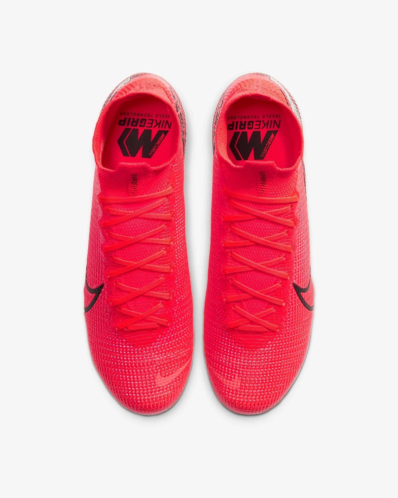 Zapatillas de Futbol para Hombre Nike Superfly 7 Elite SG-PRO rojo carmesi