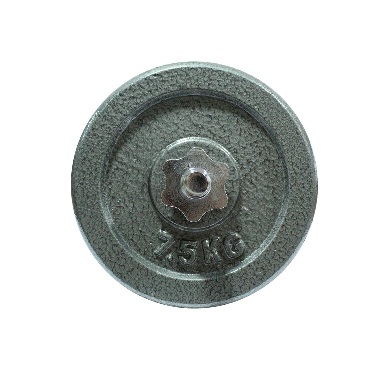 Disco Fierro JKS 7.5 kg Gris