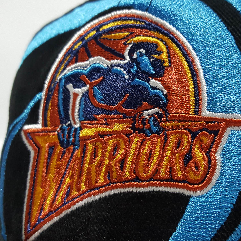 Gorro Mitchell And Ness Warriors NBA Hurrican DS Snapback Negro