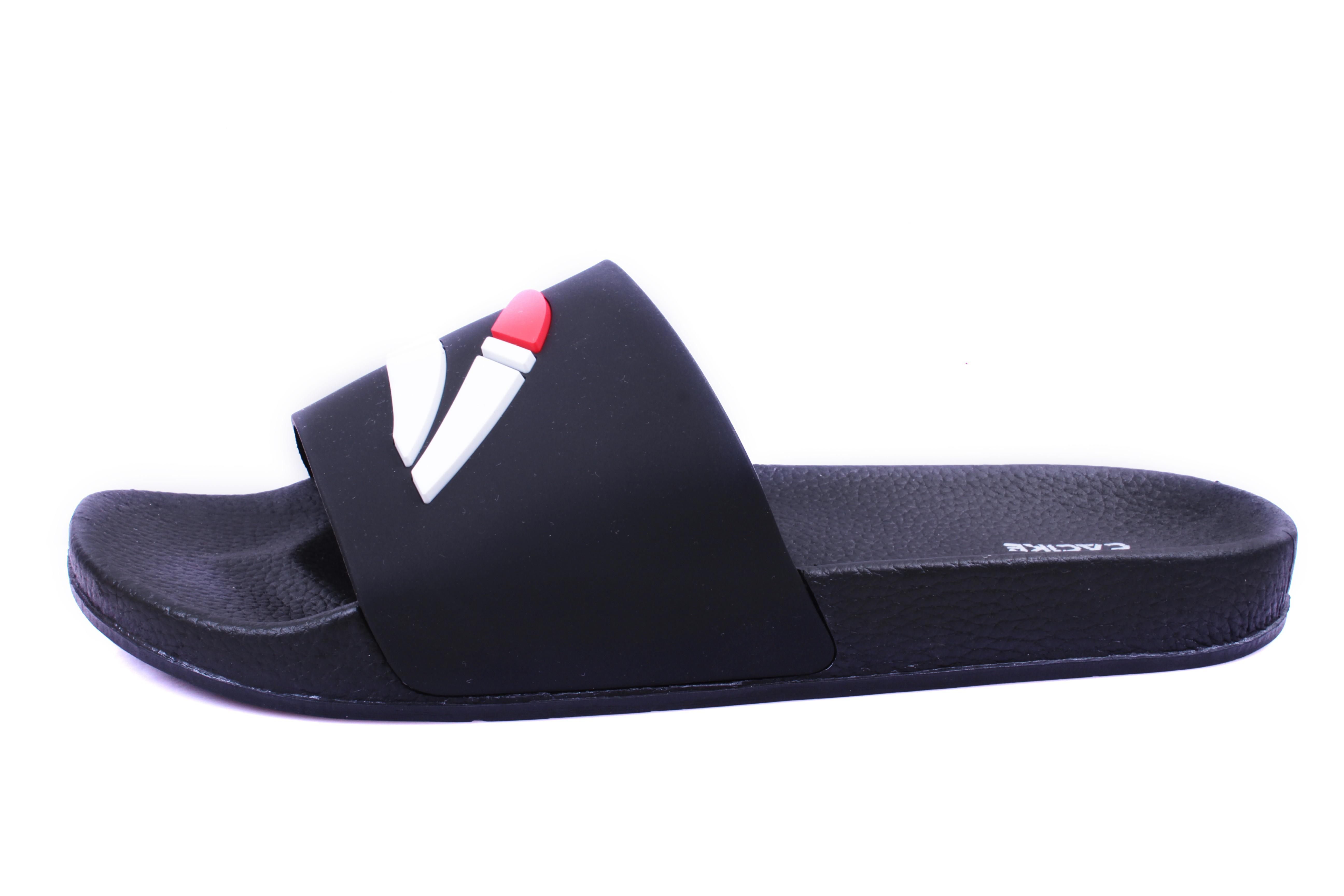 Sandalias de Hombre Pluma Cac1ke Negro