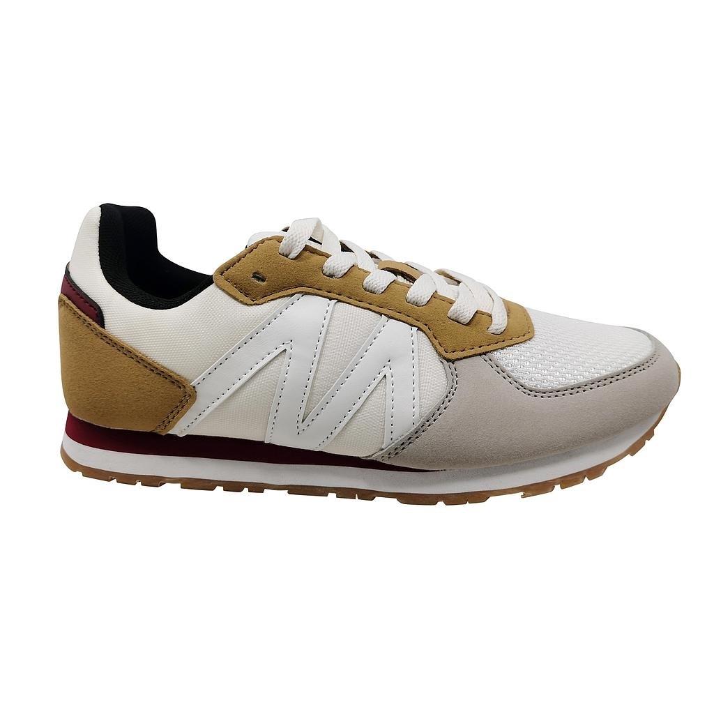 Zapatillas de Mujer Michelin Footwear Cyclo Cross Blanco-Gris